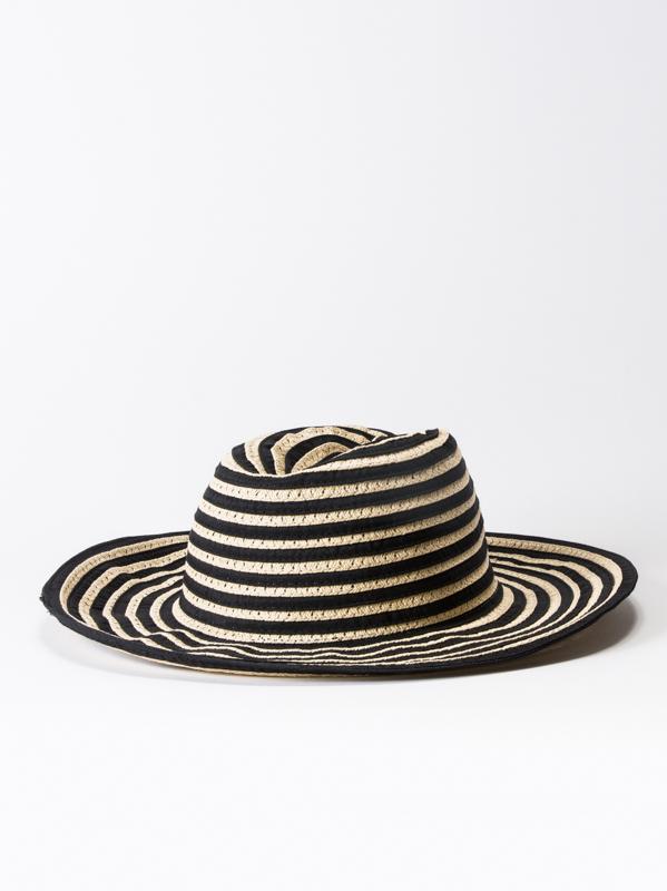 RVCA WHICH WAY black dámský slaměný klobouk   eSatna.cz bda2199a52