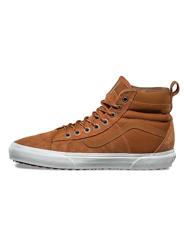 70a2881267 Vans SK8-HI 46 MTE DX (MTE) glazed ginger flannel pánské boty na zimu    eSatna.cz